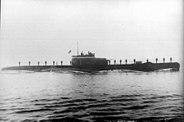 Turkish submarine Oruc Reis 1942