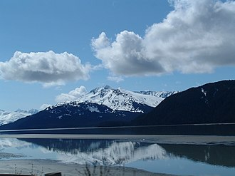 Turnagain Arm - Turnagain Arm from Anchorage.