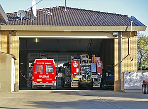 Fire and Rescue NSW - HAZMAT and Rescue vehicles