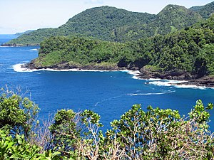 English: Amalu Bay, Tutuila island, American Samoa