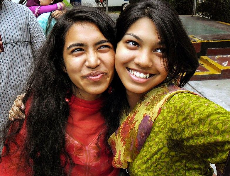 File:Two Bangladeshi smiling women (01).jpg