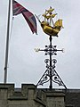 Two Temple Place, Astor House, Victoria Embankment - weather vane, wind vane 01.jpg