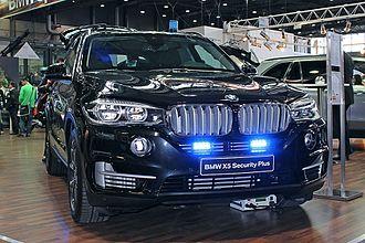 BMW X5 (F15) - BMW X5 Security Plus
