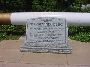 USS Grenadier (SS-210) - Image: U.S.S.Grenadier