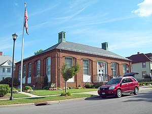 Akron, New York - The post office in Akron is listed on the National Register of Historic Places.