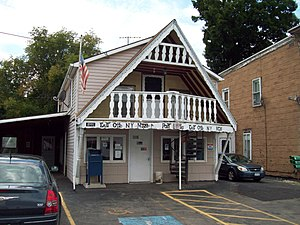 East Otto, New York - East Otto Post Office, August 2010
