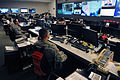 U.S. military personnel in the National Guard Command Center in Arlington, Va., monitor the progress of Hurricane Isaac as it moves through the Gulf of Mexico Aug. 28, 2012 120828-A-WV705-014.jpg
