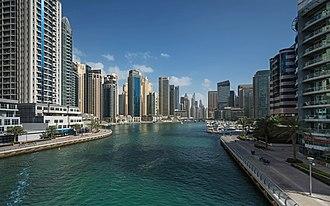 Emaar Properties - The Dubai Marina district