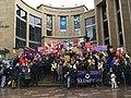 UCU Strike Rally, Buchanan Street, Glasgow 02.jpg