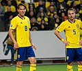 UEFA EURO qualifiers Sweden vs Spain 20191015 Albin Ekdal and Pierre Bengtsson.jpg