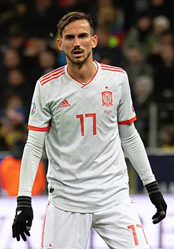 UEFA EURO qualifiers Sweden vs Spain 20191015 Fabian Ruiz 6 (cropped).jpg