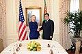 UNGA 2009- Secretary Clinton Meets With Turkmenistan President (3953652185).jpg