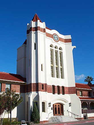 Agnews Developmental Center - Image: USA Santa Clara Agnews Developmental Center Clocktower 5