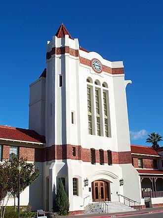 Agnews Developmental Center - Image: USA Santa Clara Agnews Developmental Center Clocktower 5