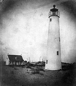 Cape St. George Light - Image: USCG Capestgeorge Early
