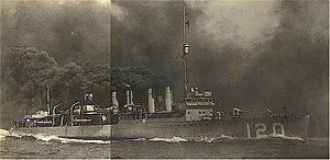 USS Radford (DD-120) - Image: USS Radford DD120