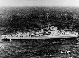 USS <i>Charles R. Greer</i> (DE-23) Evarts-class destroyer escort