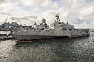 USS <i>Gabrielle Giffords</i> Independence-class littoral combat ship