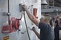USS Lake Erie (CG 70) Sailors performs preservation 170826-N-MZ078-033.jpg