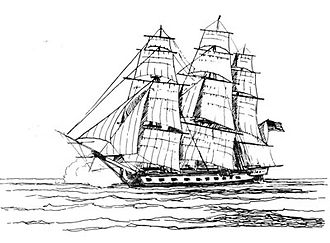 Battle off Barbados - USS Randolph
