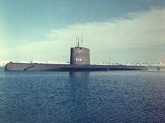 USS Skate (SSN-578) - Image: USS Skate (SSN 578);0857816
