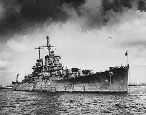 USS Wilkes-Barre (CL-103) - USS Wilkes-Barre