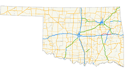US 266 (Oklahoma) map.png