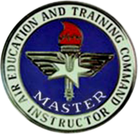 US Air Force Air Education and Training Command Master Instructor Insignia
