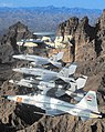 US Carrier Air Wing Reserve 20 aircraft in flight 2003.JPG