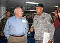 US Navy 050908-N-2954M-007 Vice President Dick Cheney and Lt. Gen. Russel Honore talk after a briefing.jpg