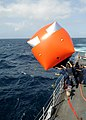 US Navy 090915-N-6814F-107 ailors launch a Navy gunnery target balloon, or killer tomato, from the guided-missile cruiser USS Anzio (CG 68) during a live-fire exercise.jpg