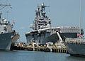 US Navy 100815-N-6764G-072 The Tarawa-class amphibious assault ship USS Nassau (LHA 4).jpg