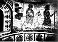 Uchaux fresque de l'abside de la chapelle du Castellas (vers 1880).jpg