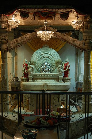 Shivaji Park - Ganesh temple at Shivaji Park
