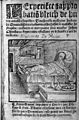Ulrich von Hutten in in bed, suffering from syphilis. Wellcome L0005341.jpg