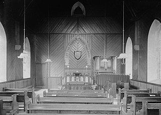 An unidentified chapel interior