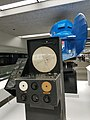 United Air Lines Link Model C-3 Instrument Flying Trainer, with Dehmel Flight Trainer console (SFO Museum 2017) 01.jpg