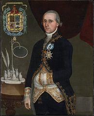 Portrait of the Duque de Agrada