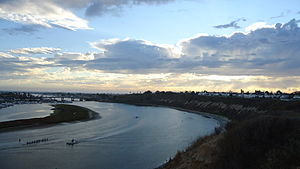 Upper Newport Bay - Newport Beach, California....
