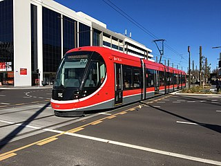 Light rail in Canberra