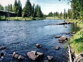 Henrys Fork (Snake River tributary) - Henrys Fork in eastern Idaho