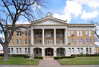 Uvalde County, Texas - Image: Uvalde courthouse