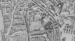 Uxbridge Cricket Club Ground - The Cricketfield Road ground in 1945
