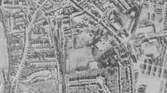 Uxbridge Cricket Club Ground - The Cricketfield Road ground in 1945