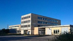 Võhma - Image: Võhma Lihakombinaadi hooned