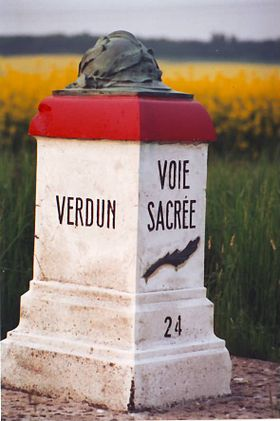 Image illustrative de l'article Voie sacrée (Verdun)