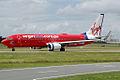 VH-VUJ 'Suzzie Blue' Boeing 737-8FE Virgin Blue (8710152380).jpg