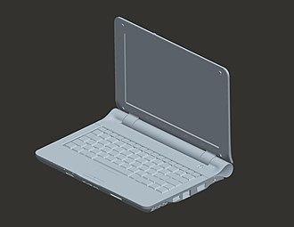Open design - VIA OpenBook reference design CAD visualisation