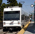VTA Low Floor Light Rail Vehicle Mountain View CA.jpg