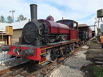 Valley Heights Locomotive Depot Heritage Museum - Valley Heights Mixed train at Valley Heights Locomotive Depot Heritage Museum